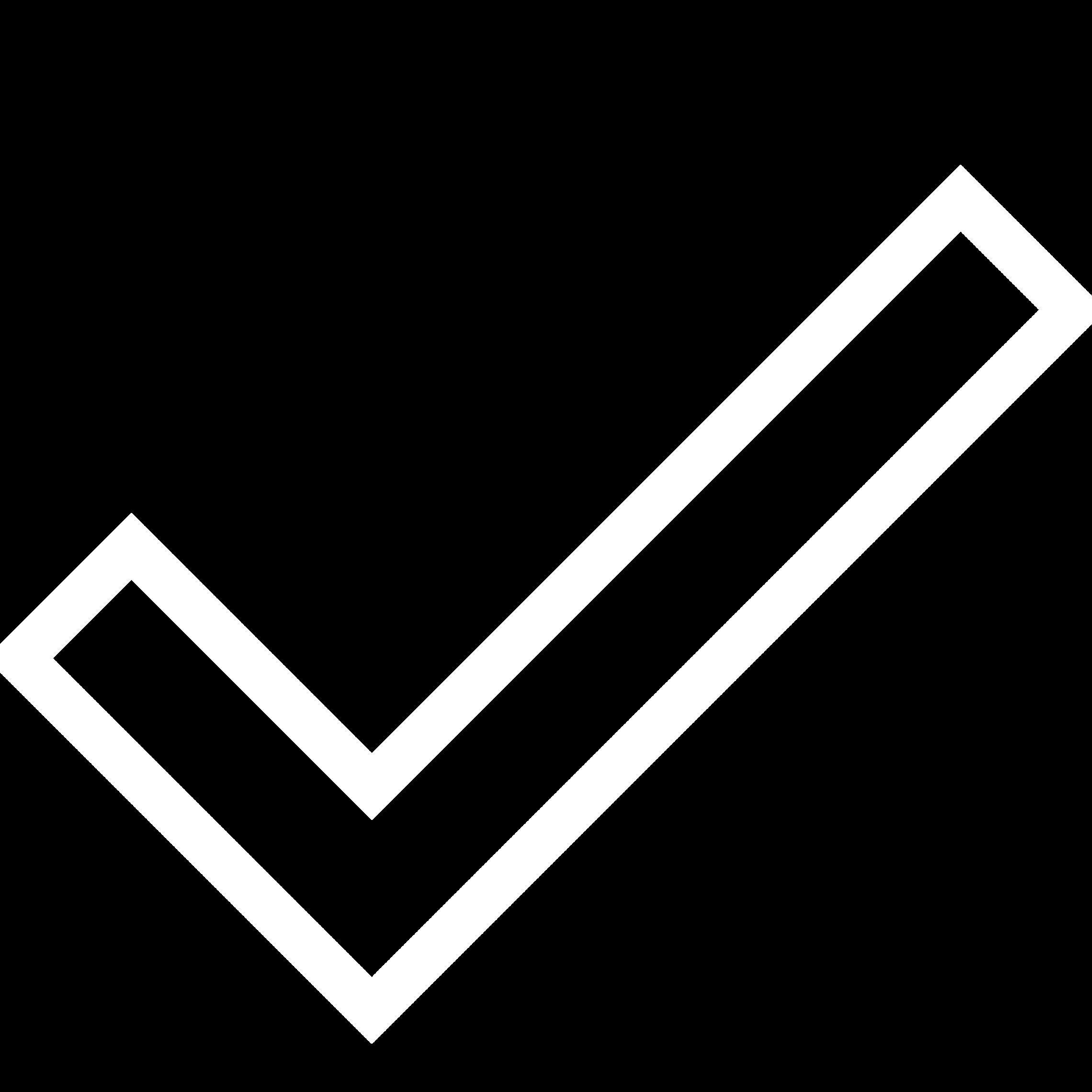 Checkmark Outline